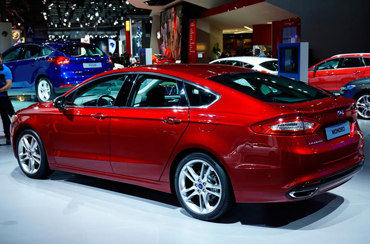 Ford Mondeo Back 2015