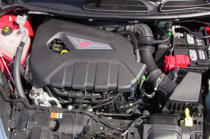 Ford Fiesta ST Engine 2016