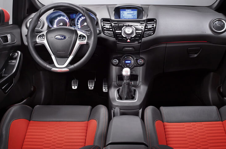 Ford Fiesta St Interior 2016
